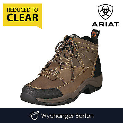 Ariat Women's Terrain Lace Boots (Distressed Brown) SALE
