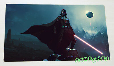 F1206 Free Mat Bag Darth Vader Sci Fi Star Wars TCG Playmat Desk Mat Mouse Pad