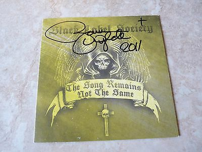 Zakk Wylde Autographed Signed BLS Song Remains Same CD Book PSA Guaranteed