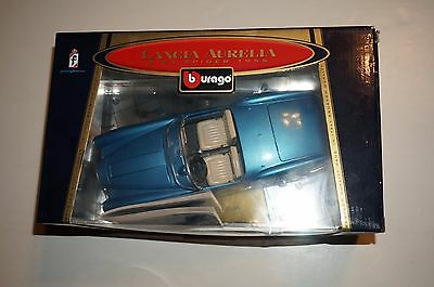 Bburago Lancia Aurelia 1955 B 24 Spider Die Cast Metal Special Collection