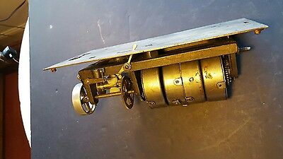 Antique Circa 1905 Columbia Cylinder Phonograph Motor 4 Spring-Project or Parts