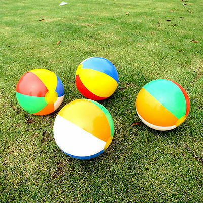 5pcs Inflatable Beach Balls Pool Holiday Party Garden Funny Game Toy 23cm