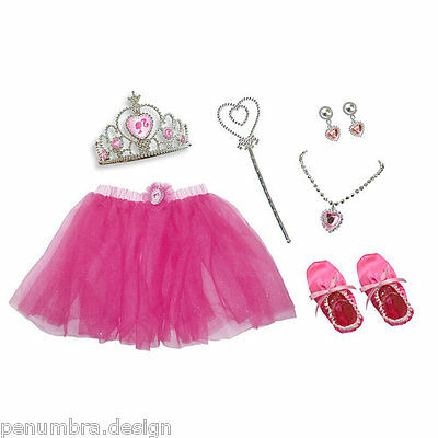 Barbie In The Nutcracker Girls Ballerina Dress-Up Set With Tutu .. Age 3-5 Years