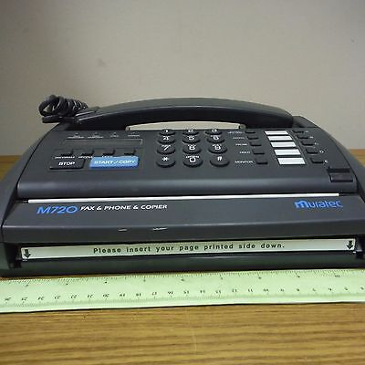 MURATEC Fax Phone Copier Combination Unit P/N M720  JUST REDUCED!