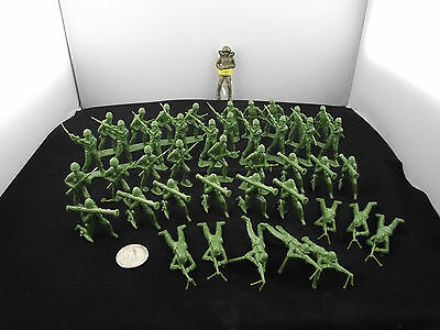 """Green Toy 2"""" Army Men Collection Plastic Mpc 63 Etc"""