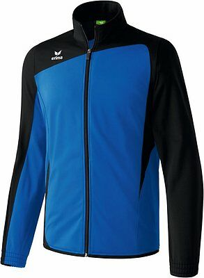 Erima Club 1900 Shiny Trainingsjacke, Kinder, Gr. 3/164, Blau/Schwarz, UVP 29,95