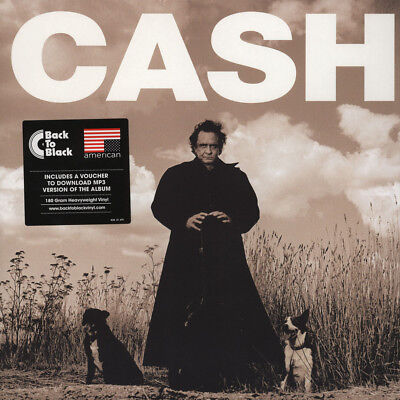 Johnny Cash - American Recordings (Vinyl LP - 1994 - EU - Reissue)