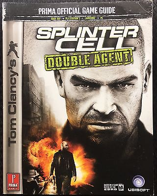 Splinter Cell Double Agent Official Game Strategy Guide PS2 Xbox 360 GameCube PC