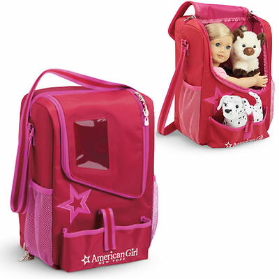 American Girl Doll & Pet Carrier Case New York Pet New NWT Retired