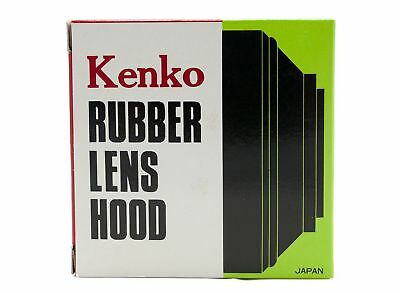 Kenko 43mm Screw-In Rubber Lens Hood - Made in Japan - MPN: KLH-43