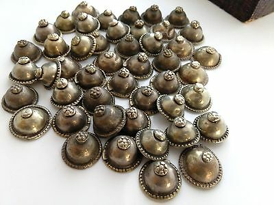 25 VINTAGE Turkoman Buttons DIY Tribal Fusion Belly Dance Costuming Supply