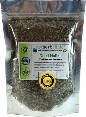Mullein Australia - Best Pure Quality Dried Herb Tea Verbascum Thapsus