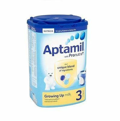 Aptamil Growing Up Milk 3 (1-2 years) 900g 1 2 3 6 Packs