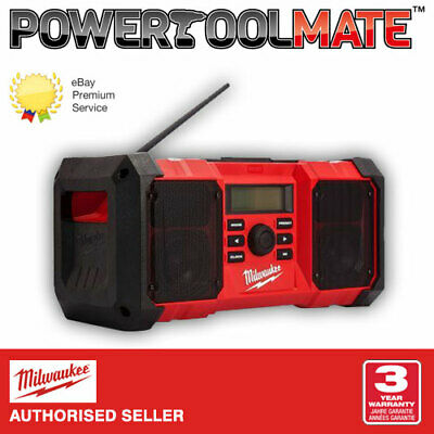 Milwaukee M18JSR-0 Jobsite AM/FM Radio *Body Only*