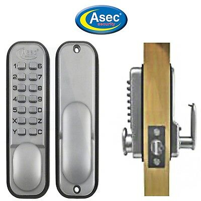 Push Button Mechanical Digital Combination Code Door Lock Keyless Access S/C
