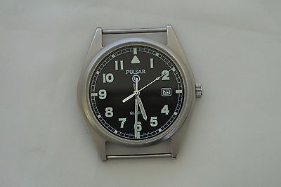 British Army - Military 2004 Pulsar G10 Watch super issued condition