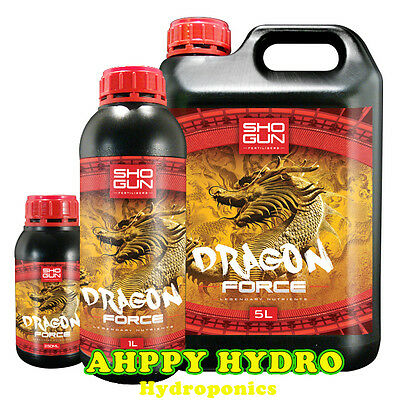 Shogun Dragon Force Hydroponic Flowering Booster 250ml | 1 Litre | 5 Litre