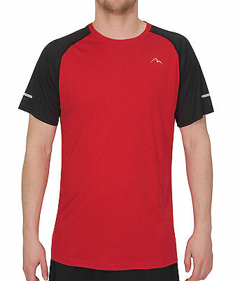 More Mile Tempest Cool Performance Junior Running Top - Red