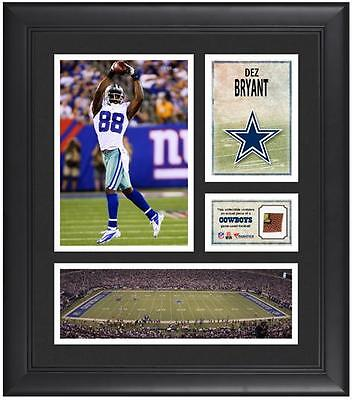 """Dez Bryant Dallas Cowboys Framed 15"""" x 17"""" Collage with Game-Used Football"""