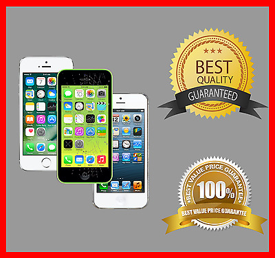 Apple iPhone 5 5s 5c Cracked Glass LCD screen repair service