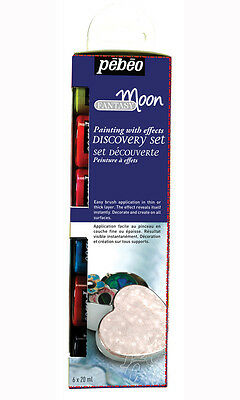 Pebeo Fantasy Moon Discovery Set 6 x 20ml - Multi-surface paint