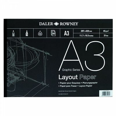 Daler Rowney Layout Pad - A3