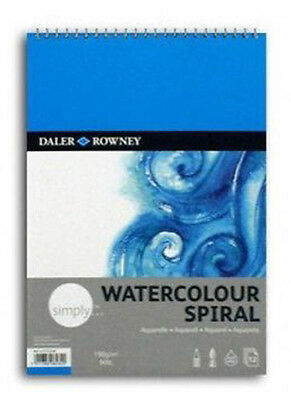 Daler Rowney Simply Spiral Watercolour Pad - A4
