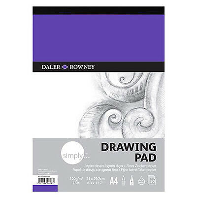 Daler Rowney Simply Drawing Pad - A4