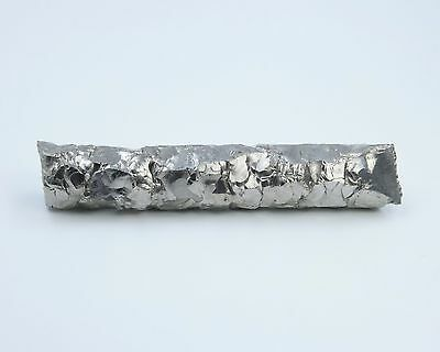 Zirconium Metal Crystal Bar Element Sample - 138 Grams, 99.8% Pure