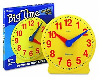 Learning Resources Big Time Learning Clock Educational Learning Developmental