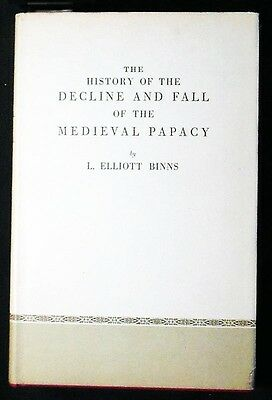 The History of the Decline and Fall of the Medieval Papacy HB/DJ 1967 FINE/VG