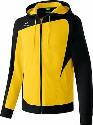 Erima Club 1900 Trainingjacket, Kinder, Gr. 3/164, Gelb/Schwarz, Neu, UVP 39,95