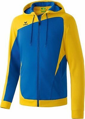 Erima Club 1900 Trainingjacket, Kinder, Gr. 3/164, Blau/Gelb, Neu/OVP, UVP 39,95