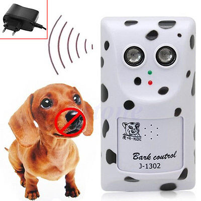 1x Humanely Ultrasonic Stop Control Dog Barking Anti Bark Device Silencer Hanger