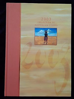 AUSTRALIA POST DELUXE EDITION 2003 YEAR BOOK with SLIPCASE - NEW - NO STAMPS
