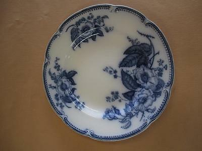 Saucer, Plate, Blue and White, JG Meakin, Emperor, Antique