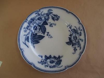 Dinner Plate, Large, Blue and White, JG Meakin, Emperor, Antique
