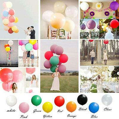 Colorful Big Giant Supply 36 Inch Latex Balloon Decoration Party Wedding