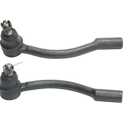 Tie Rod End for 2012-2014 Hyundai Accent (2) Outer Tie Rod Ends Front Outer