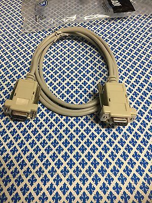 Cavo Pc/Pc Null Modem Cavo AT, AT cross over DB 9p. F/F 1,8 m