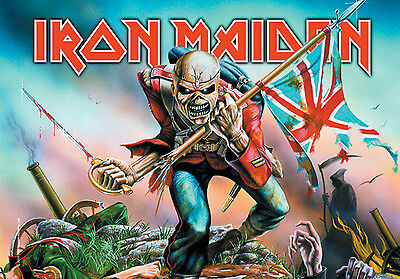 Iron Maiden - The Trooper - Poster Flag - Posterfahne
