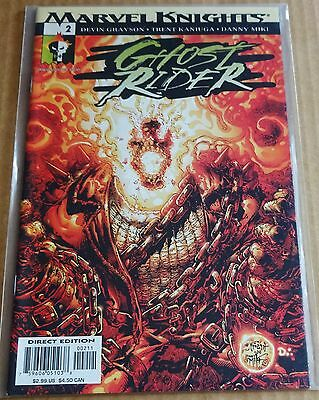 Marvel Comics New/unread High Grade Nm Comic; Marvel Knights Ghost Rider #2