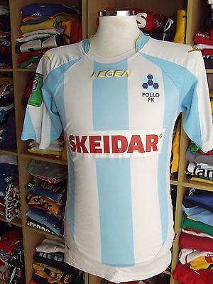 Trikot Follo FK (L)#5 Heimtrikot Legea Norwegen Shirt Norway Jersey Matchworn