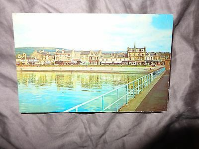 1972  Scottish Postcard Of View From The Pier, Helensburgh N/s