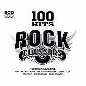 Various - 100 Hits Rock Classics (2012)  5CD Box Set  NEW/SEALED  SPEEDYPOST