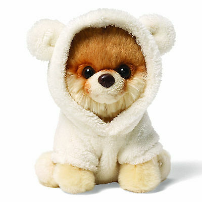 Plush Itty Bitty Boo Wearing a Bear Suit The Worlds Cutest Dog Cuddle Soft Toy