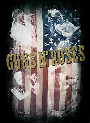 """Guns N' Roses Flagge / Fahne """"axl Rose Live Collage"""" Poster Flag Posterflagge"""