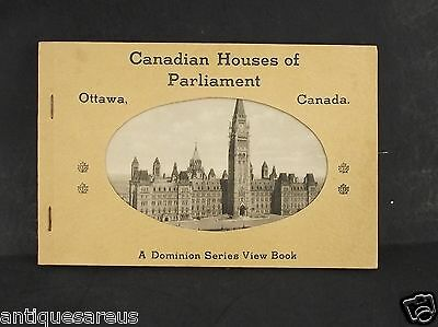 Canadian Houses Of Parliament Ottawa Canada Domionon Series View Book