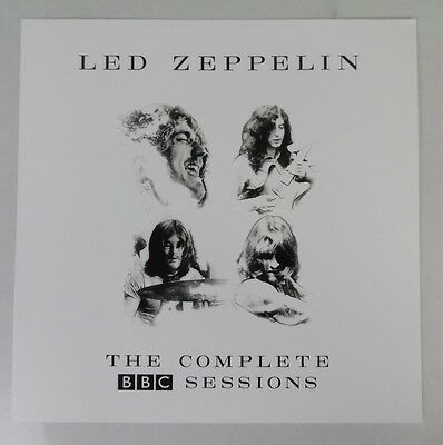 """Led Zeppelin - The Complete BBC Sessions  * Lithograph Poster Flat 12"""" x 12"""""""