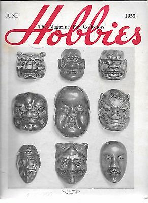 Hobbies - The Magazine for Collectors - June 1953 Issue